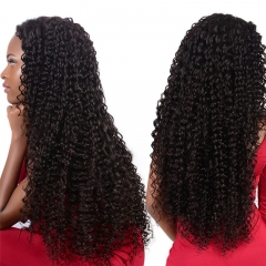 13x6 Lace Front Wig Kinky Curly Can Be Permed Average Size No Shedding No Tangle Suitable Dying Colors