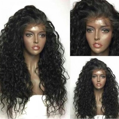 360 New Texture 13x6 Lace Front Wig With Baby Hair 130,150,180,300 Density Pre Plucked Hairline